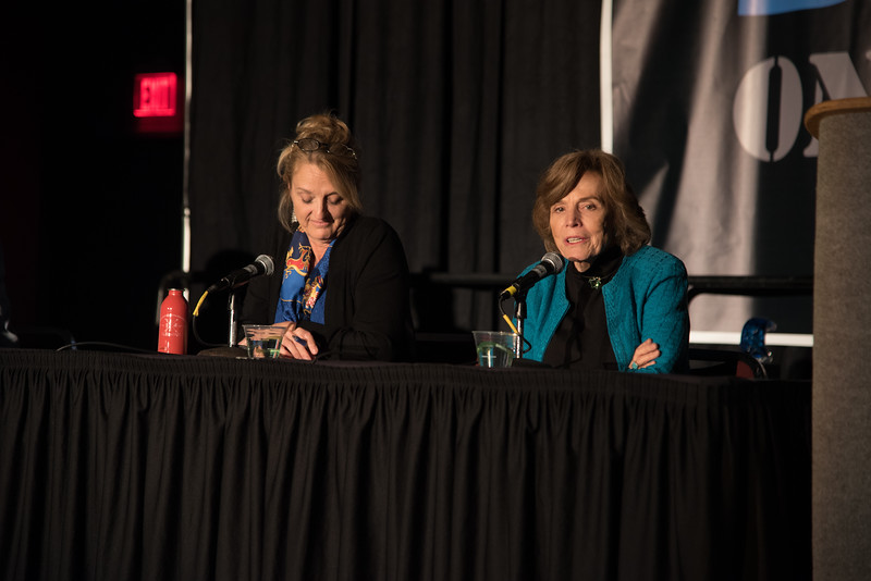 Dr. Sylvia Earle giving her opinion on how to make the ocean a better place.