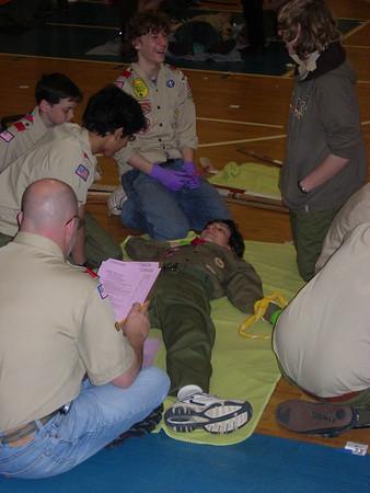 First Aid Meet - March, 2006