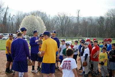 Fletcher Baseball Clinic, 2012