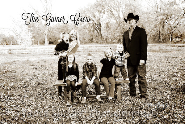 Gainer Family 11-18-12