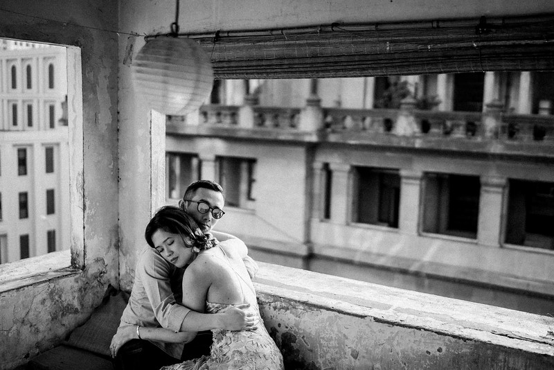 Engagement session in Saigon by Hipster Wedding