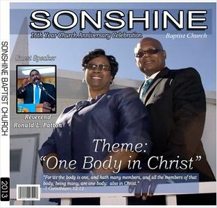 Sonshine 16th Year Church Anniversary