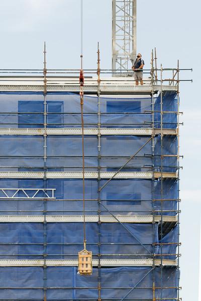 Working construction crane. Update 174 . Gosford. January 2019.