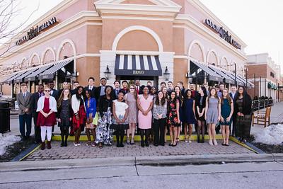 SVA 8th Grade Banquet 2019