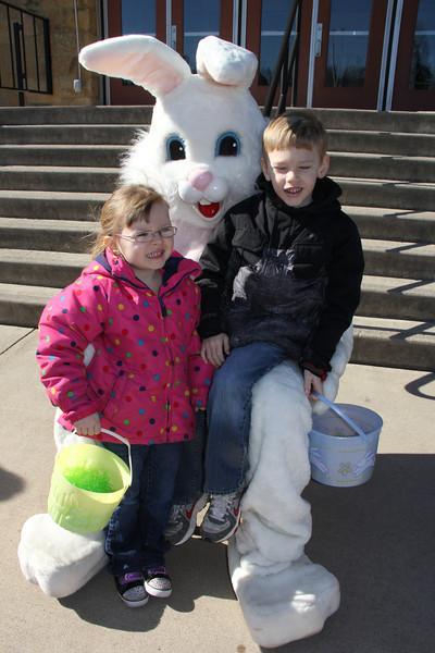Community Easter Egg Hunt, Marian High School, Tamaqua (3-30-2013)
