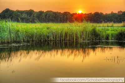 Naardermeer sunset