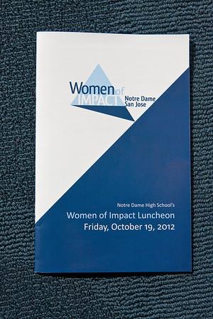 2012 Women of Impact Luncheon