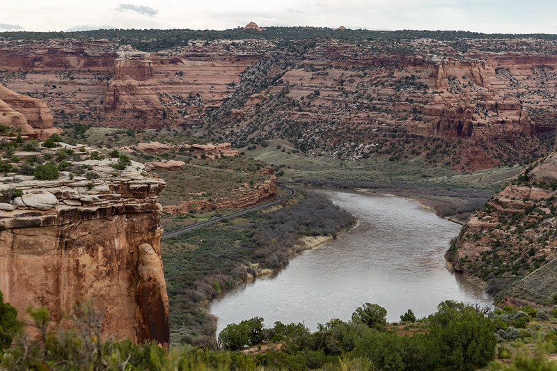 The Colorado River in McInnis Canyons National Conservation Area, near Grand Junction, Colorado, on April 26, 2019. Photo by Mitch Tobin/The Water Desk