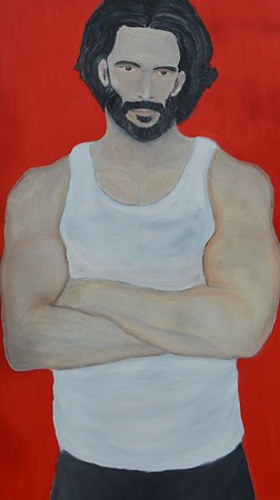 """""""The Purpose of Man"""" (oil on canvas) by Caleb Brown"""