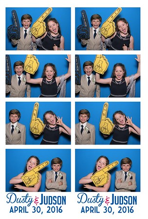 Dusty & Judson Photo Booth