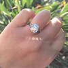 3.46ct Old European Cut Diamond GIA M, VS1 57