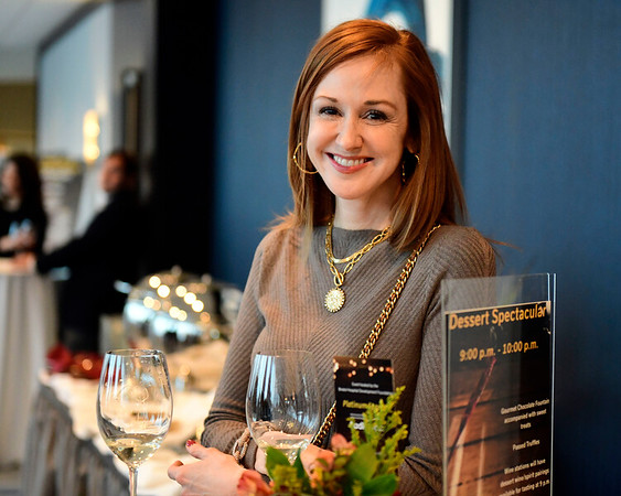 3/23/2019 Mike Orazzi | Staff Kathleen Douglas during the Bristol Hospital Development Foundation's annual Festival of Wine and Spirits held at the DoubleTree by Hilton Hotel in Bristol Saturday night.
