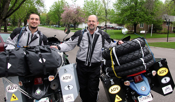 MN to Argentina Motorcycle Trip - Not for Sale