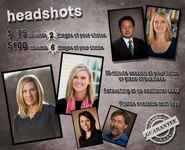 Headshot Info Page