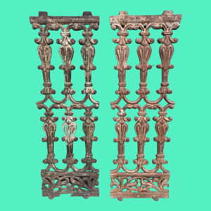 Pair of Decorative Balusters