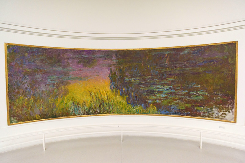 Claude Monet, The Water Lilies - Setting Sun, 1920–1926