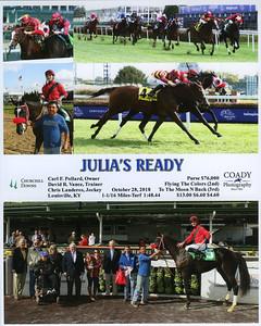 JULIA'S READY - 10/28/2018
