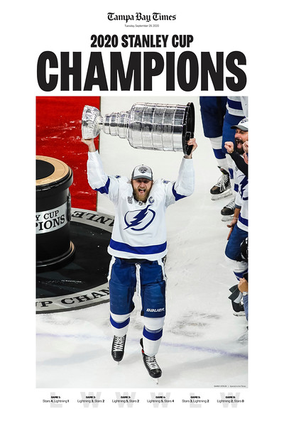 20 x 30 - 2020 Stanley Cup Champions