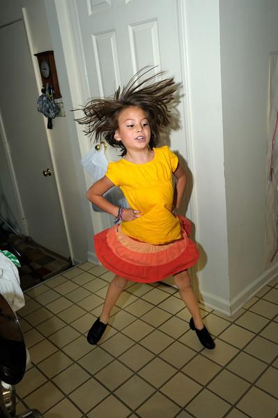 10/11/11 Micah. Madeline dancing