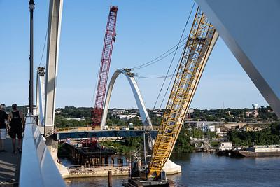 The new Frederick Douglass Bridge