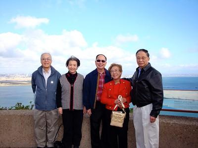 黃卓然夫婦聖地亞哥一遊 (1/25/2009)