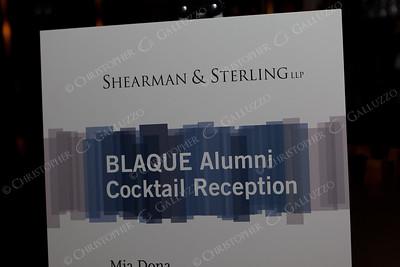 Blaque Alumni Event