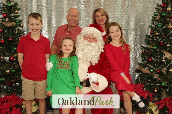 Oakland Park Santa Photos 12-8-2018