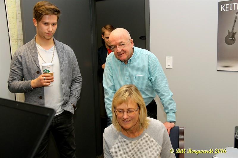 Jesse Mast with Larry Donohue & Jackie Rae at 840 CFCW - Edmonton 141