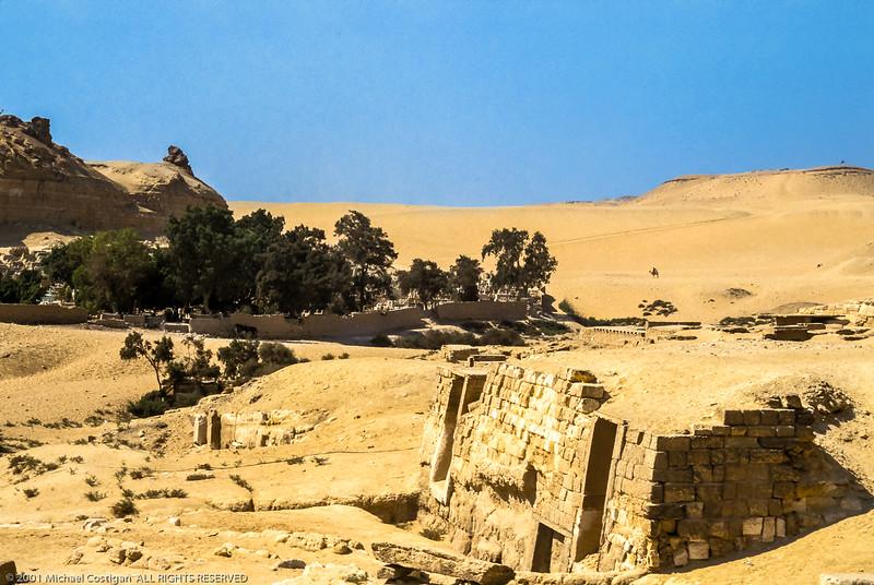 Tomb near Giza Pyramids