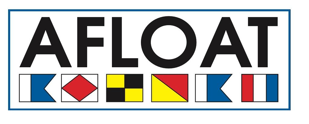AFLOAT Magazine nameplate (photo credit: AFLOAT Magazine)
