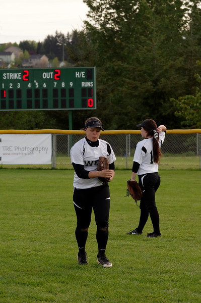 WSHS Girls JV Softball 4-15