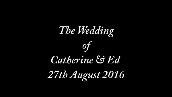 Catherine & Ed Wedding