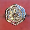 .82ct Old European Cut Diamond Art Deco Solitaire GIA M VS1 29