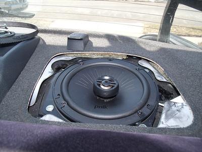 2003 Mitsubishi Lancer Evolution Rear Deck Speaker Installation - USA