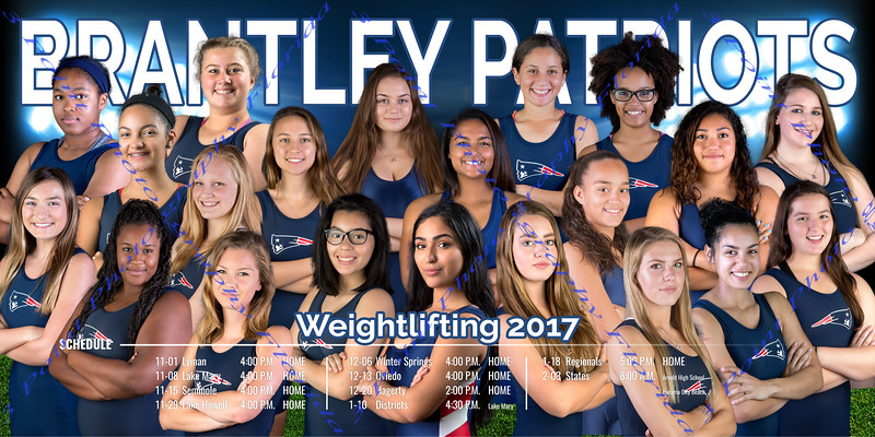 Weightlifting 2017-2018