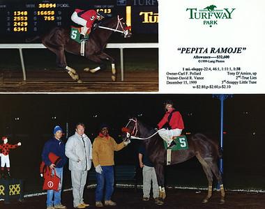 PEPITA RAMOJE - 12/15/1999
