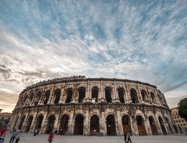 The Roman Bullfighting Amphitheatre