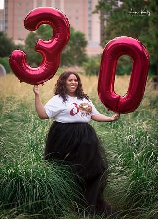 Michella Taylor 30th Birthday Shoot