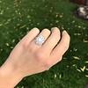 1.82ctw Diamond Cluster Ring 7