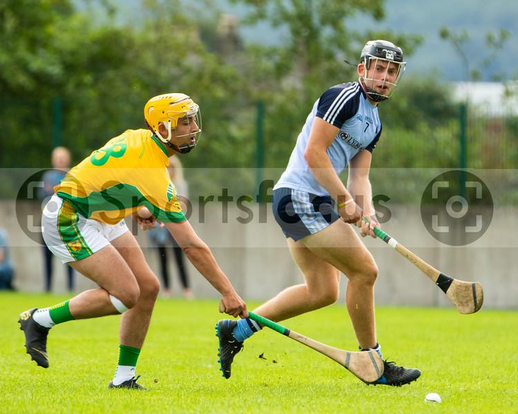 Toomevara's S Flaherty and Nenagh Eire Og's Rory O'Donovan