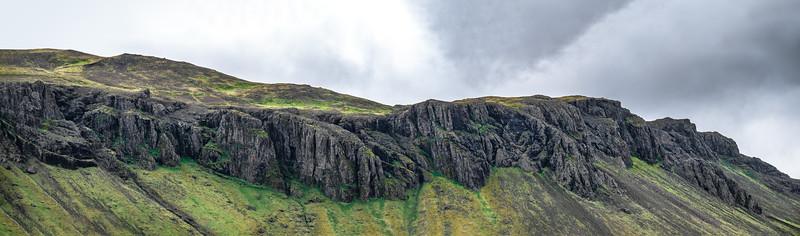 Iceland Black Ridge   Photography by Wayne Heim