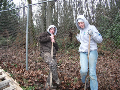 AmeriCorps MLK Day Project - Building a Shed on Solid Ground