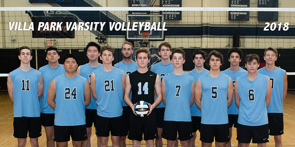 2018 Varsity Volleyball Team Photos