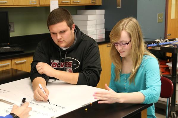 Jenny Morris's Physics Class First Semester