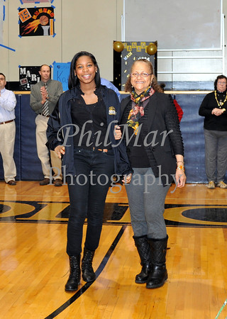 Varsity Senior Night - Berks Catholic vs Conrad Weiser 2013 - 2014
