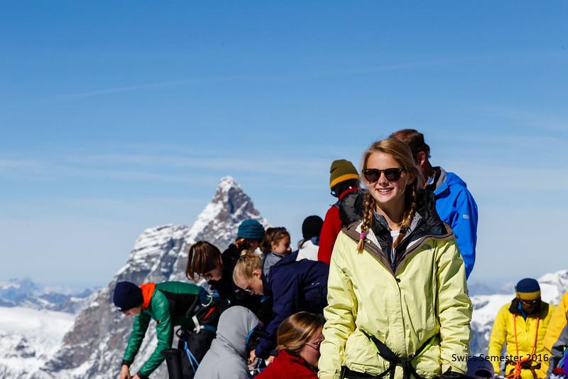 Shea on the summit