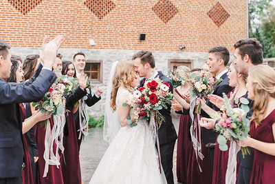 Bridal Party and Family Portraits