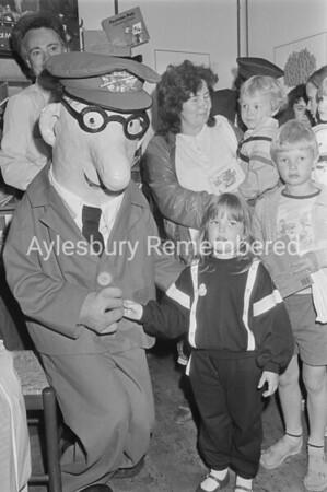 Postman Pat at Martins Newsagent, Aug 1986