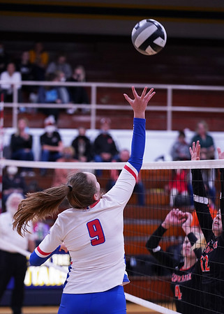 LB VB vs Coldwater Sets 3 & 4 in District Semis (2020-10-26)