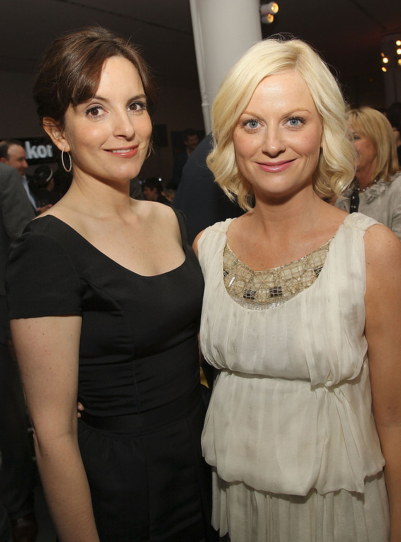 ". The 2013 Golden Globe Awards Nominations were announced on December 13, 2012 in Los Angeles, California.  Tina Fey and Amy Poehler will co-host the Golden Globes awards on January 13, 2013 with actress Jodie Foster receiving the Cecil B. DeMille Award. NEW YORK - APRIL 23:  Actresses Tina Fey and Amy Poehler attend the after-party for The 2008 Tribeca Film Festival  premiere of ""Baby Mama\""at MoMA on April 23, 2008 in New York City.  (Photo by Stephen Lovekin/Getty Images for Tribeca Film Festival)"